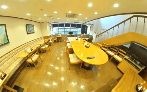 アローンズ大阪 食堂パノラマ画像